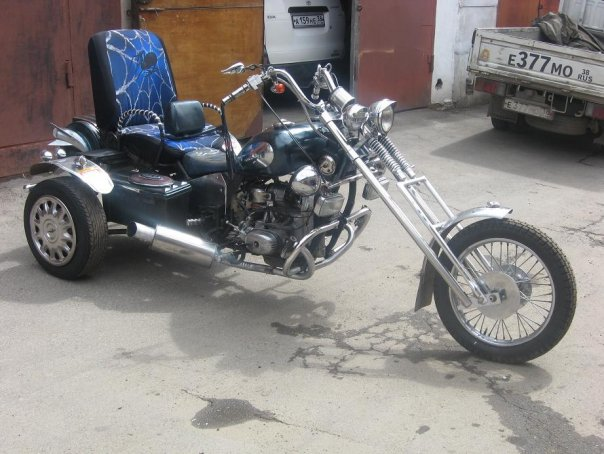 Строим трицикл из урала